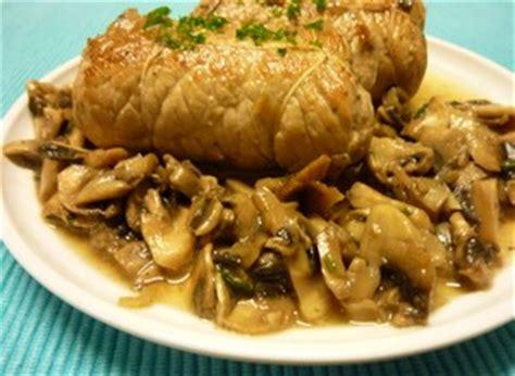 cuisiner des paupiettes de veau au four paupiette de veau aux chignons plat du jour