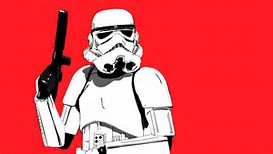 Star Wars Stormtrooper Black and Red