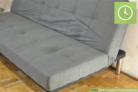 futon mattress cleaning 3 ways to clean a futon mattress wikihow