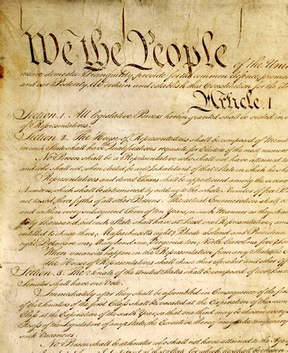 full printable us constitution about the united states constitution legends of america