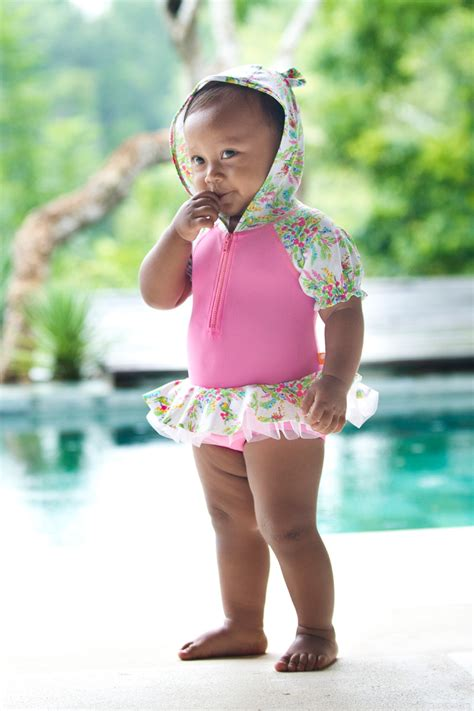 baby bathing suits 3 6 months springtime hooded one baby escargot