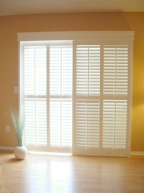 Interior Shutters For Sliding Doors Sliding Glass Doors Indoor Shutters For Sliding Glass Doors