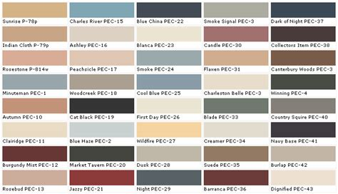 28 home depot interior paint color chart behr
