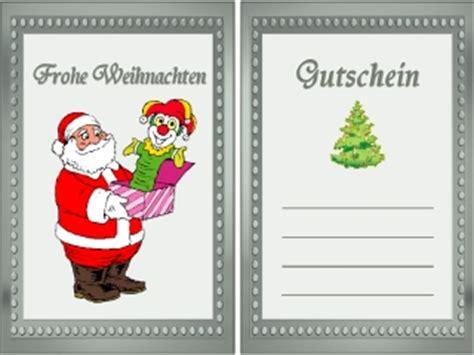 Kostenlose Vorlage Gutschein Weihnachten gutschein vorlage weihnachten geburtstag