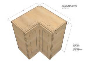 Corner Kitchen Cabinet Plans by Kitchen Corner Cabinet Dimensions