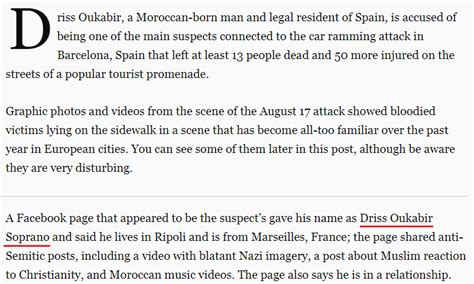 Ordinal Attack 18 revealing numerical patterns deadly attack in spain