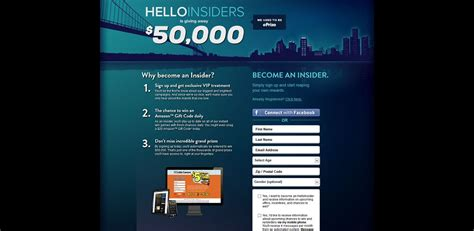 Hello Insiders Sweepstakes - helloworld insiders instant win game