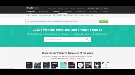 themeforest youtube how to download a purchased theme from themeforest account