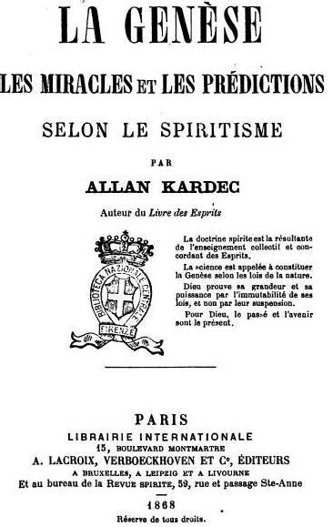 Allan Kardec - A Gênese - Obra Grátis para Download