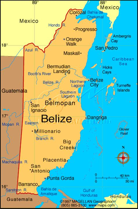 map of belize central america ancient cultures of middle america of