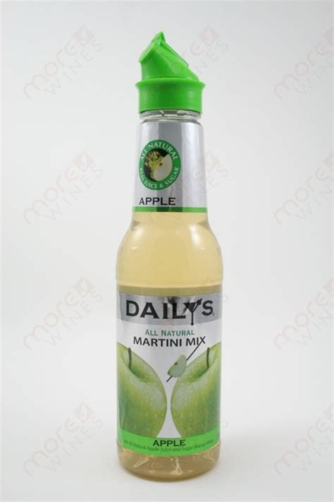 apple martini mix daily s apple martini mix 591ml morewines
