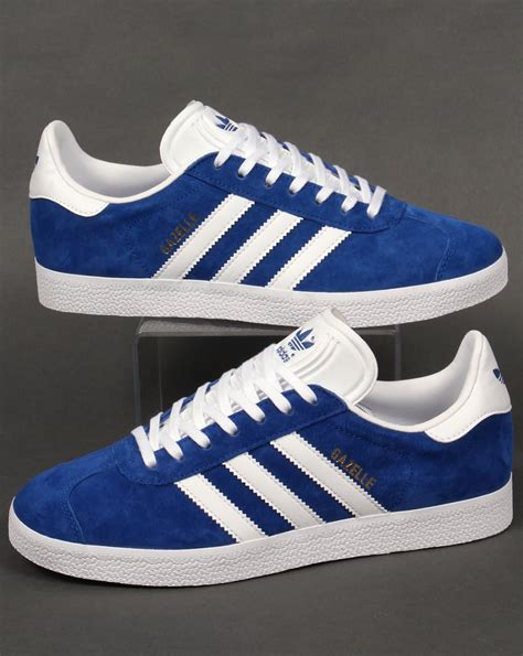 Adidas Gazelle adidas gazelle trainers royal blue white originals