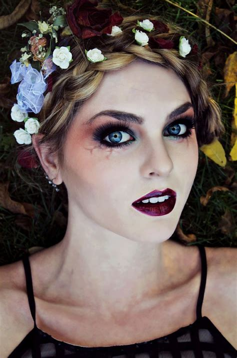 zombie flapper tutorial gothic makeup for vire zombie or dead flapper look