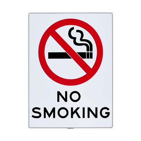 no smoking sign arch outdoor country decor sandleford 450 x 600mm no smoking plastic sign bunnings