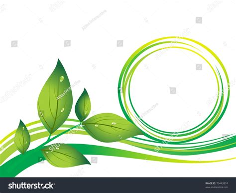 go green city background stock vector image of media abstract go green background with leaf stock vector