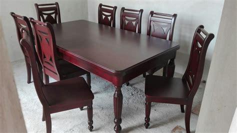 sillas comedor madera comedor para 8 sillas en madera de cedro 30 000 00 en