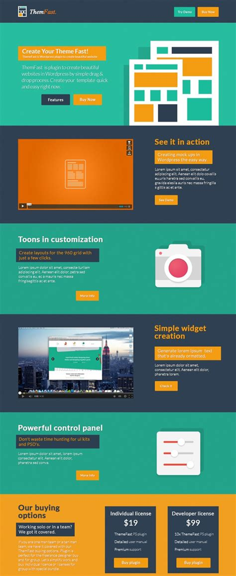 free flat psd templates and web elements for ui design