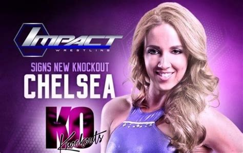 chelsea green chelsea green signs with tna diva dirt