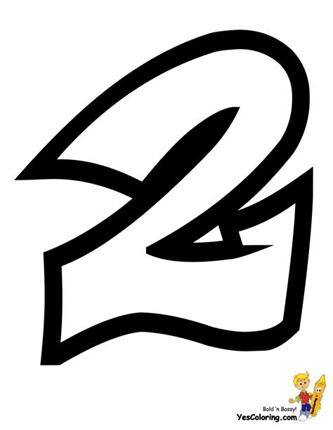 printable graffiti numbers throw up graffiti coloring pages free alphabet