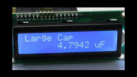 how to build a capacitor meter high resolution capacitance meter diy kit