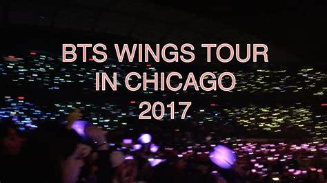 bts wings tour bts wings tour concert chicago 2017 youtube