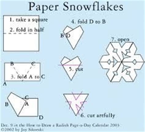 How Do U Make A Paper Snowflake - 1000 images about snow flake patterns on