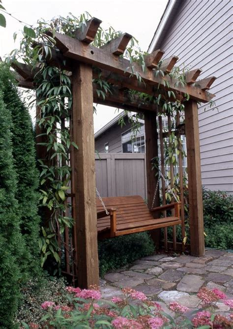 swing arbors arbor with swing garden swings pinterest swings and