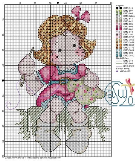 164 best cross stitch dolls images on punto