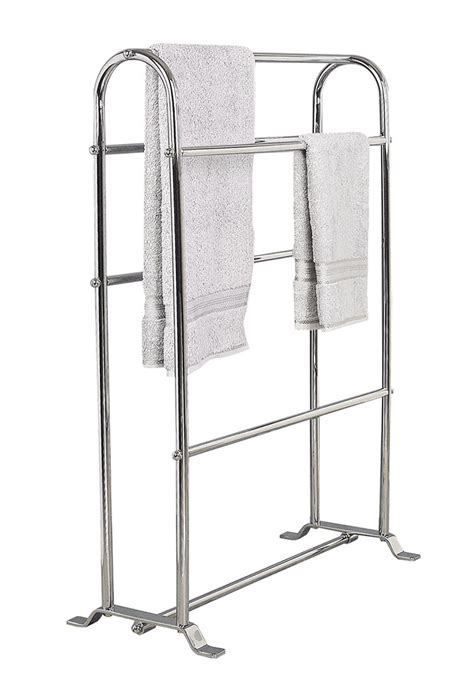 standing towel rack for bathroom stylish free standing towel racks for outstanding bathroom ideas homesfeed