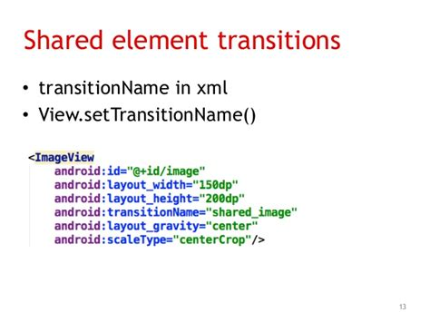 layout transition xml infinum android talks 10 implementing material design