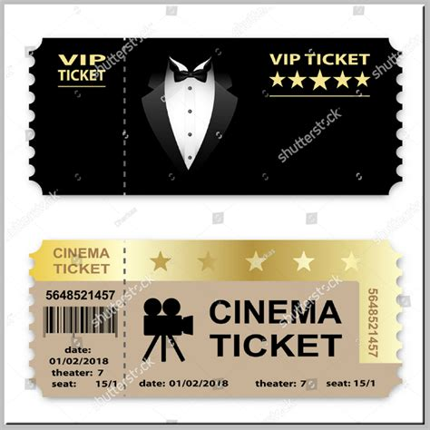 5 Service Ticket Designs Templates Psd Ai Free Premium Templates Vip Ticket Template