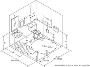 bathroom design dimensions 1000 ideas about ada bathroom on handicap