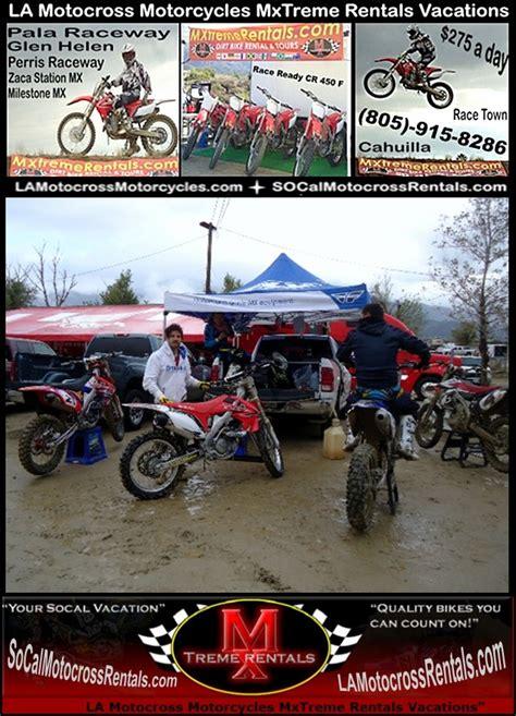 rent motocross bike ontario ca la motocross supercross dirt bike rentals los