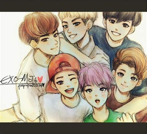 exo anime www pixshark images galleries with a bite