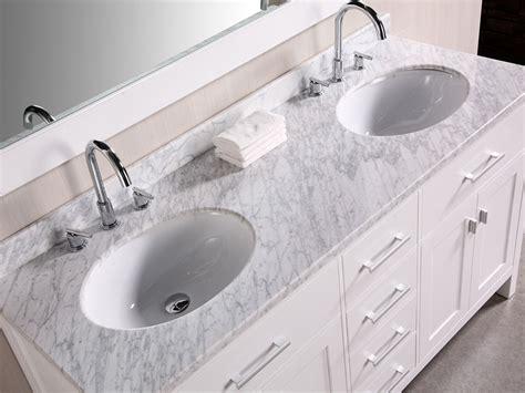61 Quot London Double Sink Vanity White Bathgems Com