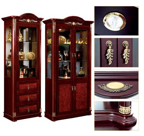 luxurious wooden carving showcase cabinet using clear arabic luxury modern hand carved mdf wooden furniture