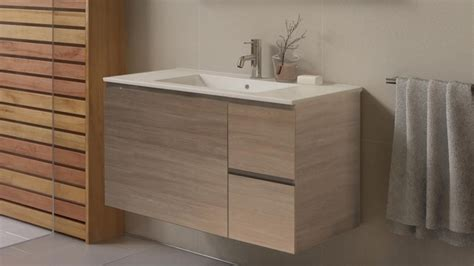 Harvey Norman Bathroom Vanities Timberline Ostia 900mm Wall Hung Vanity Bathroom