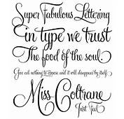 Tattoos Magazine Fonts And Lettering Part 12