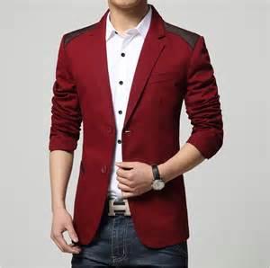 Mens desiner blazer 2015 new red blue black white blazer designs 2015