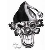 Evil Clown Skull Tattoo Design  Tattoobitecom