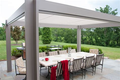 pergola design ideas aluminum pergola kits with canopy simple and elegant steel furniture chairs