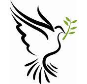 Free Flying Vector White Dove Symbol