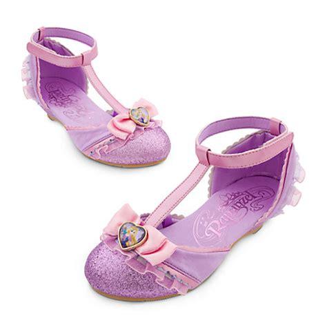 Rapunzel Shoes Pink disney store deluxe princess rapunzel purple dress shoes 11 12 tangled costume ebay