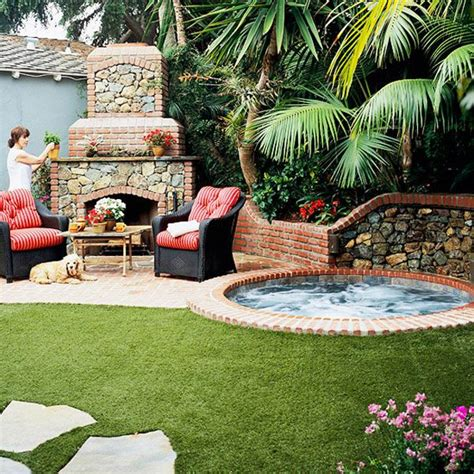 spa backyard 17 best images about outdoor spa on pinterest faux stone