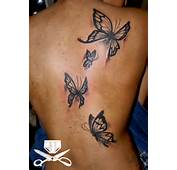 Black Butterfly Tattoos – Designs And Ideas