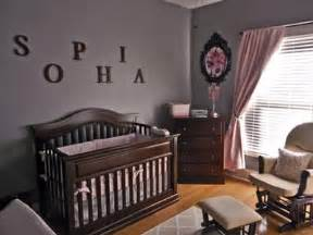 Gray And Pink Nursery Decor Restful Pink And Gray Nursery Decor