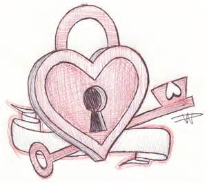 Key to my heart sketch by falloutluver13 on deviantart