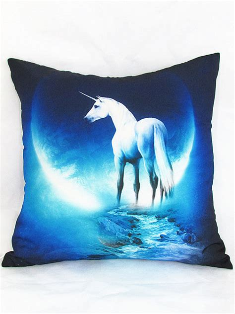 unicorn pillow cover 18x18 throw pillow by pillowow