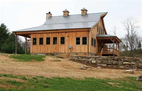Interior Country Homes 24 215 40 ponderosa country barn home with 12 amp 15ft lean tos