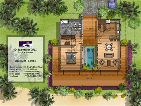 tropical house floor plans tropical small house plans modern tropical house design